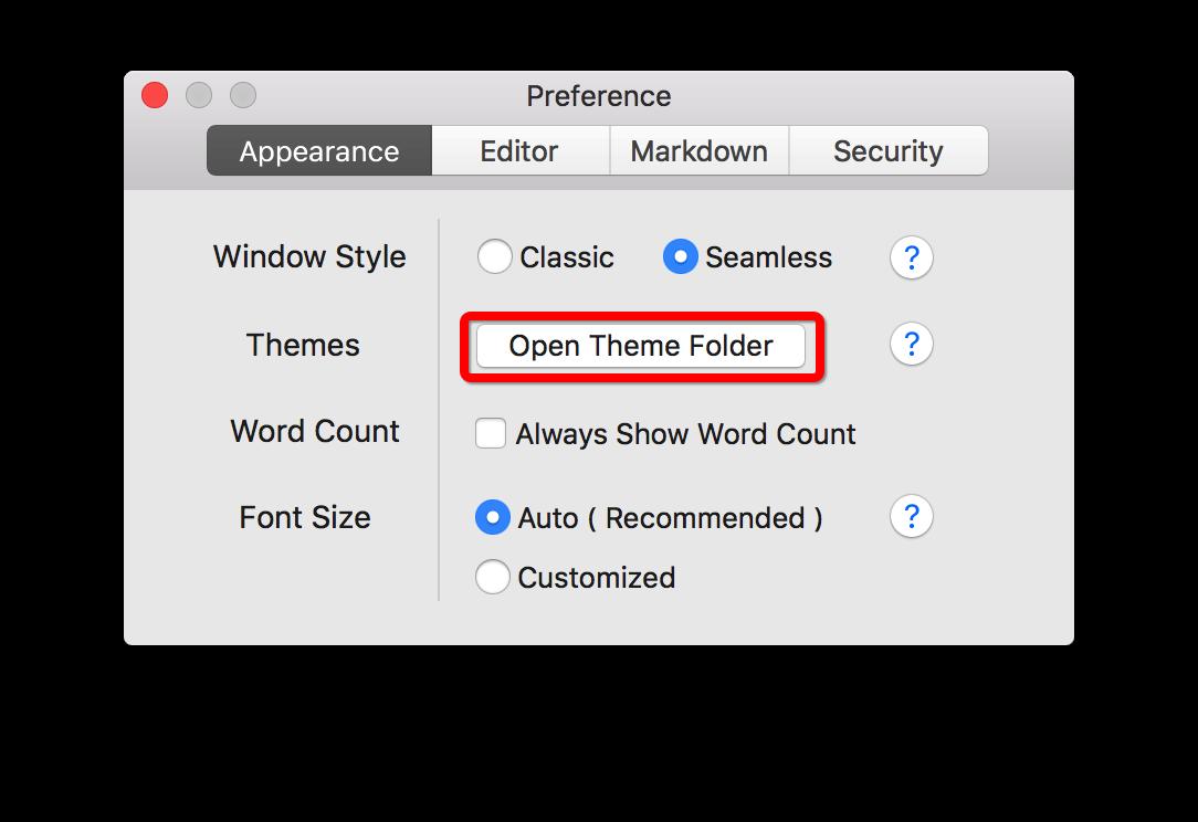 typora-preference-mac